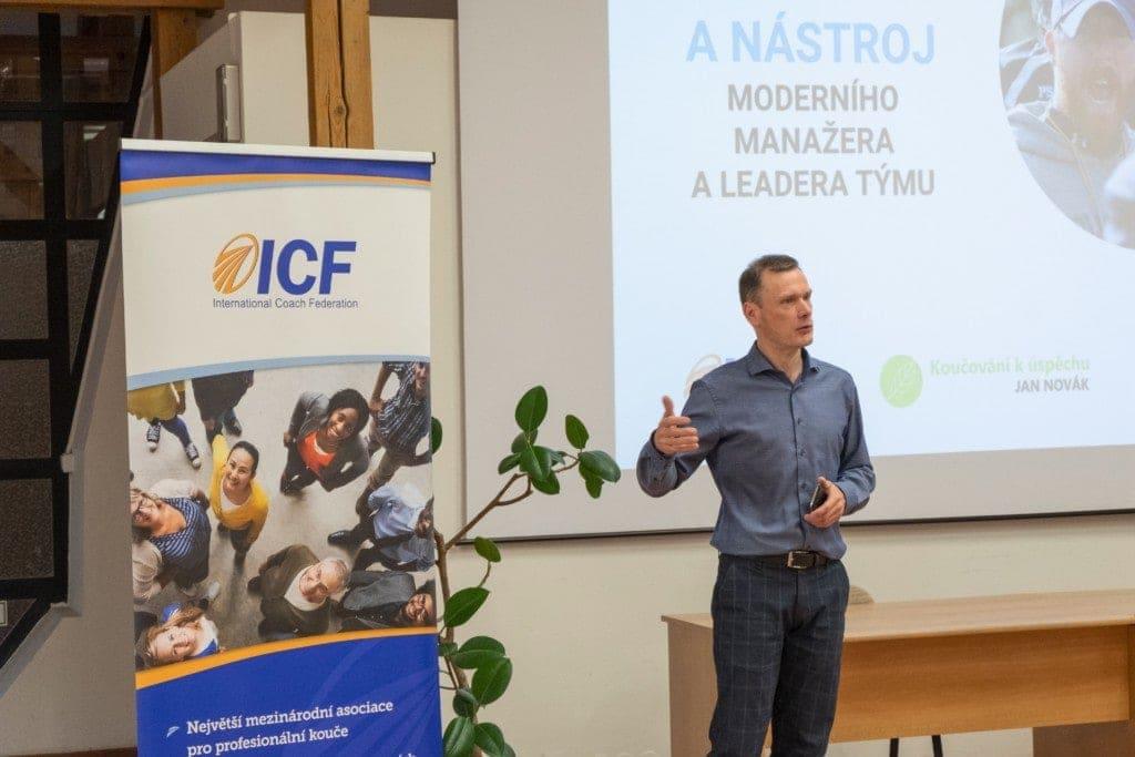 Kouč Jan Novák, ICF PCC. Koučink, nástroj moderního manažera a leadera týmu.